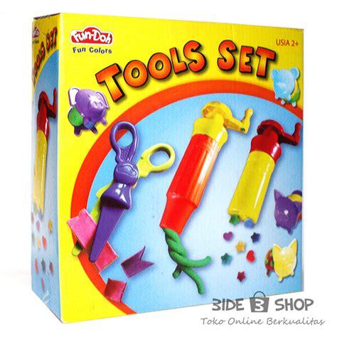 Doh Mainan Kreatif Tools Set jual doh tools set lilin mainan bide shop