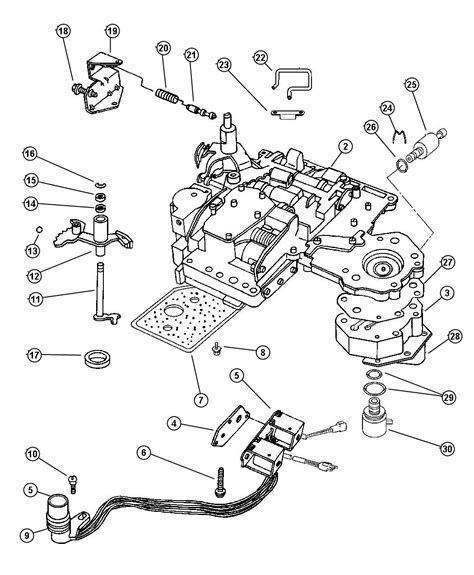 dodge parts diagrams dodge 46re transmission diagram dodge free engine image