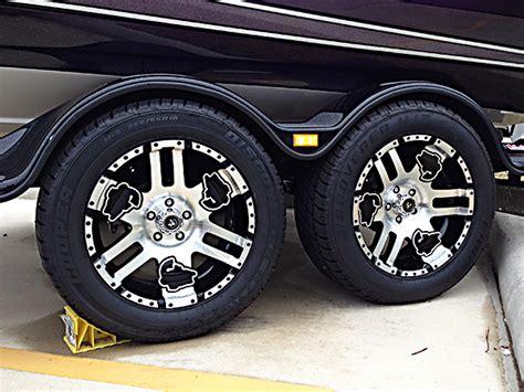 custom boat trailer rims bass sport wheel