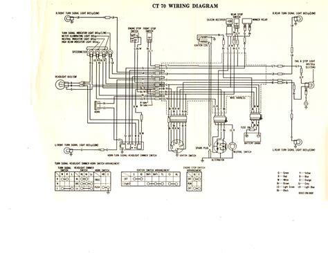 1977 ct70 wiring diagram lilhonda