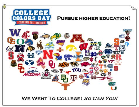 national college colors day counselorscornerblog dunwoody es counseling