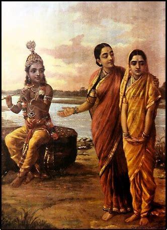 Wayang Golek Sri Krishna how raja ravi varma s heroines rejected their suitors