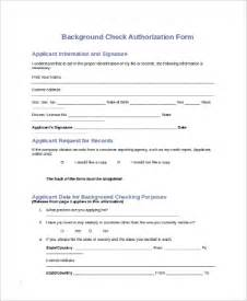background check authorization form template background check authorization release form images