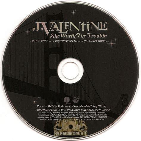 j she worth the trouble j she worth the trouble promo single cd
