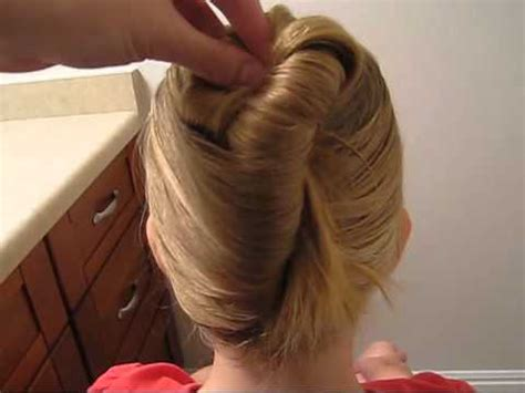 goody hair hairstyle how to use goody simple styles modern updo maker youtube