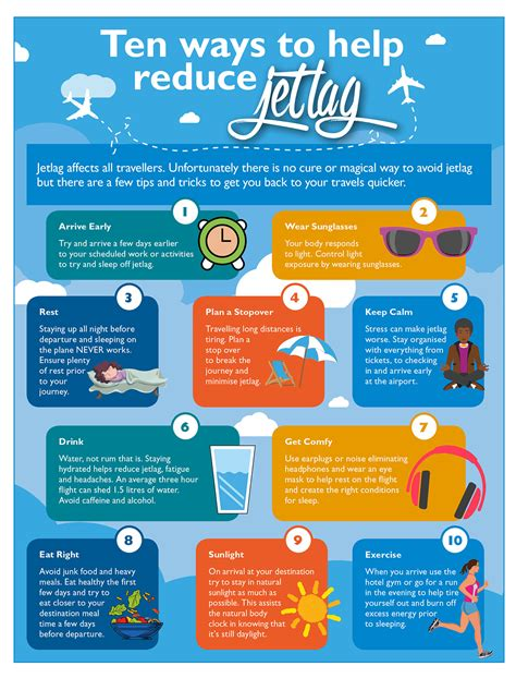 7 Tips To Overcome Jetlag by Ten Ways To Help Reduce Jet Lag