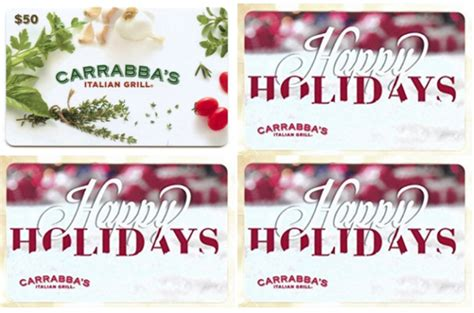 Carrabba S Gift Card Promotion - carrabba s gift card cvs lamoureph blog