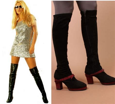 boot nation knee high boot fashion month history 1960 s