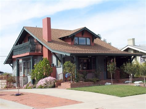 craftsman bungalow style home exterior american craftsman