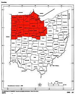 Northwest Ohio Map by All Of Northwest Ohio The Radioreference Com Forums