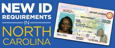 2020 minimum requirements n c real id requirements to be enforced beginning october