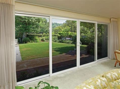 16 foot sliding glass door tuscany 174 series sliding patio doors milgard windows