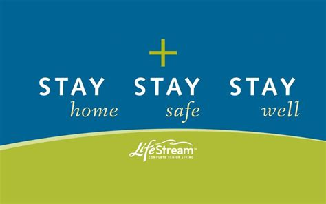 stay home stay safe stay  lifestream complete