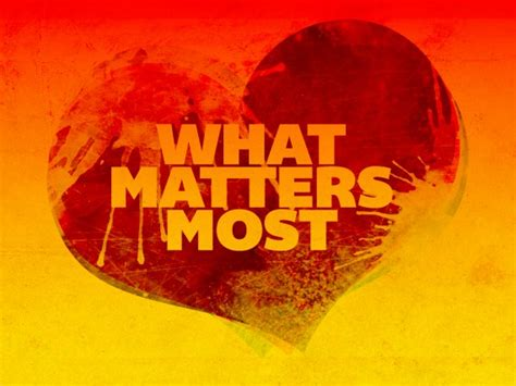 what of what matters most discover your awesomeness