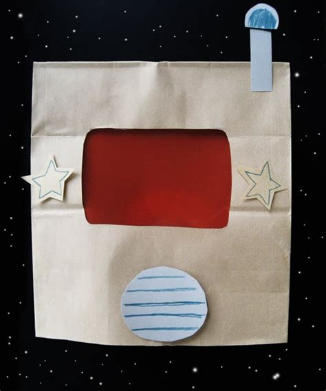 Armour Paperbag paper bag space helmet d outer space crafts helmets spaces and bag