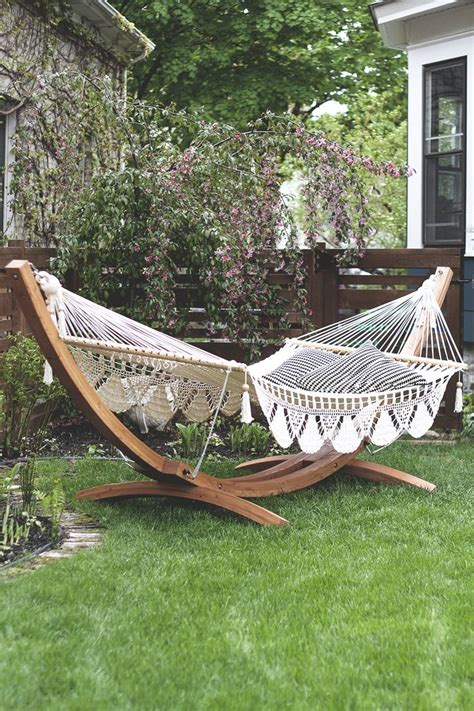 hammock ideas backyard best 25 hammock stand ideas on pinterest