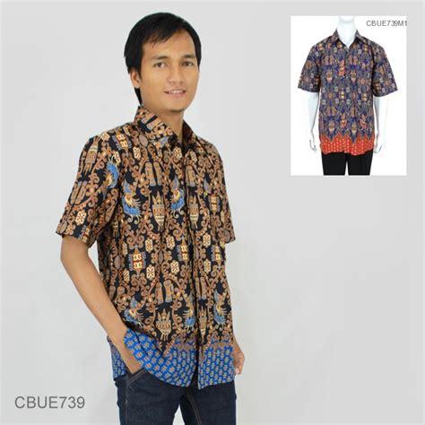 Baju Tidurpiyama Wanita Batik Flower Modern Celana Biru baju batik kemeja ekslusive motif asmat modern kemeja lengan pendek murah batikunik