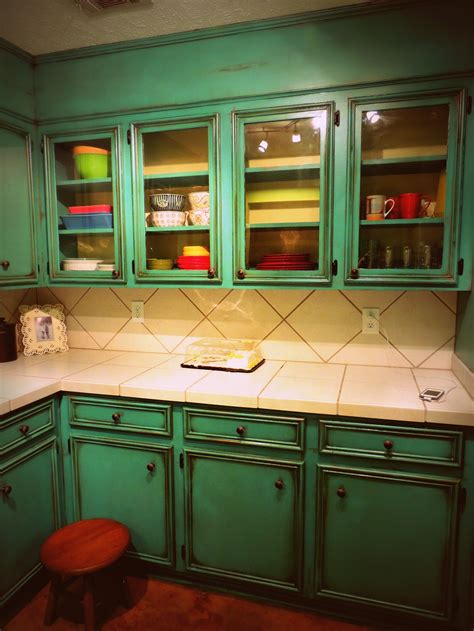 turquoise cabinets kitchen turquoise kitchen decor with classic style kitchen and
