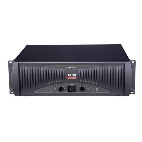 Power Lifier Ad 5000 phonic xp 5000 5000 watt power lifier ebay