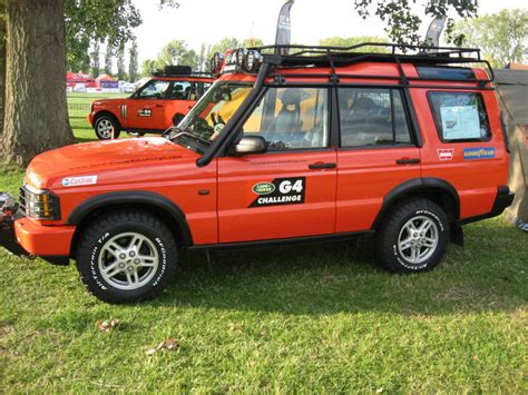 orange land rover discovery land rover g4 challenge orange paintman