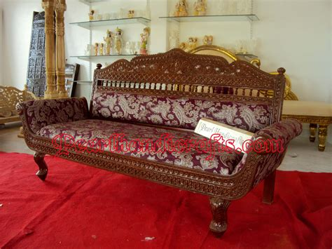 traditional indian furniture designs 3 seater sofa 171 traditional living room by pearl handicrafts