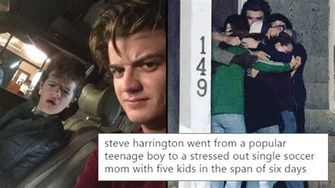 steve meme steve harrington is the s new fave and the