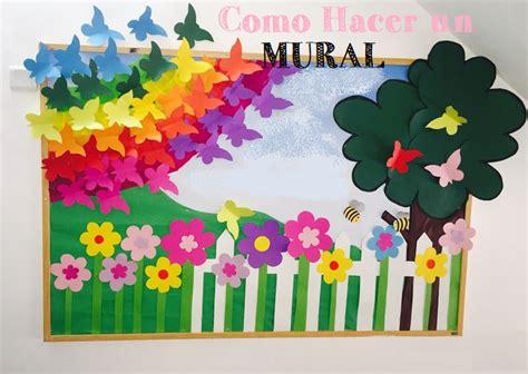 murales de salon como hacer mural para salon de clase