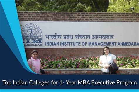 One Year Executive Mba by Top Indian Colleges For 1 Year Mba Executive Program