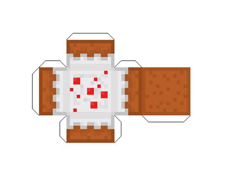 Cake Papercraft - papercraft cake