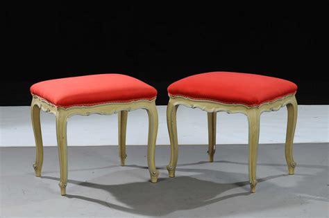 sgabelli antichi coppia di sgabelli laccati in stile piemontese