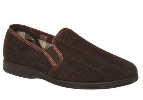 comfortable mens slippers grosby blake mens comfortable indoor slippers brand