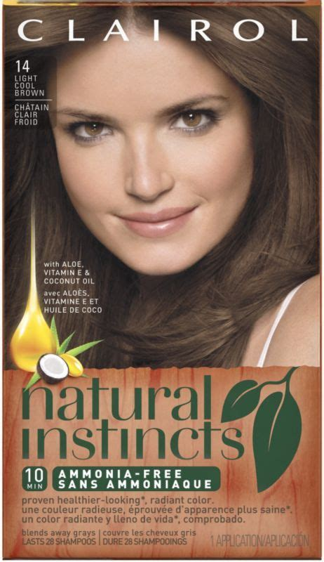 natural instincts hair color shades clairol natural instincts clairol natural instincts and