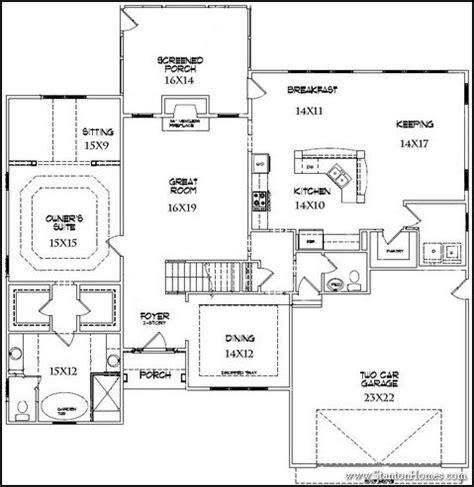 top  downstairs master bedroom floor plans
