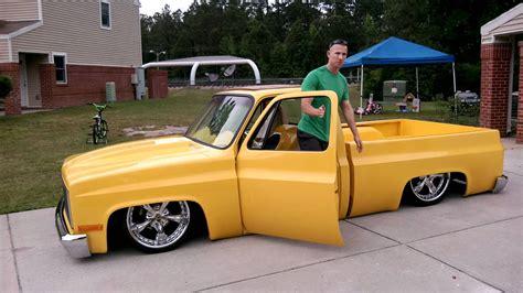 bodydropped 1981 chevy c10 custom