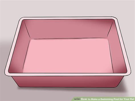how to make a swimming pool in your backyard how to make a swimming pool for your rat 6 steps with pictures