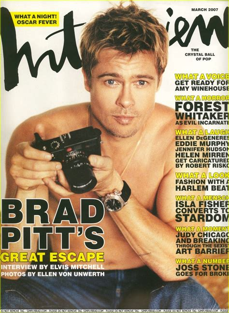 How Much Are Covers by The Changing Magazine Covers Of Brad Pitt Popbabble