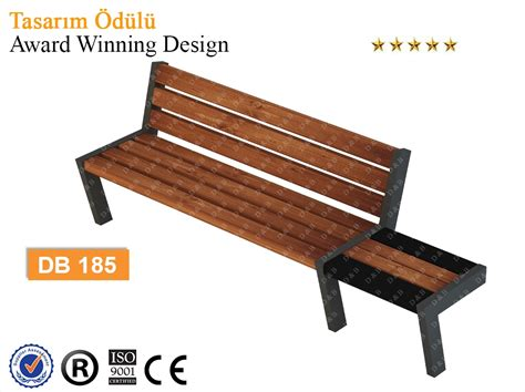 bench sitting db 185 sitting benches outdoor trash can park bench