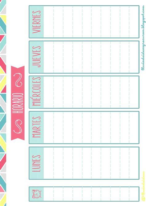la casa libro horario el pack descargable para organizar el curso escolar se