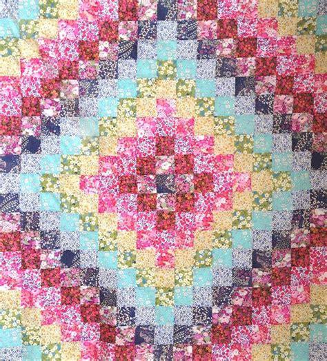 Trip Around The World Quilt Patterns by Trip Around The World Quilt Pattern Patchwork