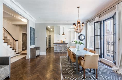 Lexington Dining Room Set by Uma Thurman S Newly Listed 6 25m Gramercy Duplex Comes