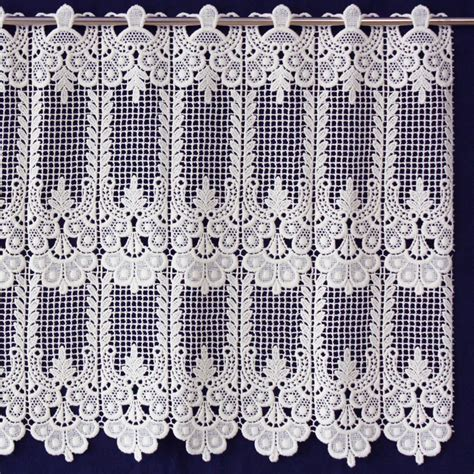 annies curtains classic macrame lace cafe and valance curtain