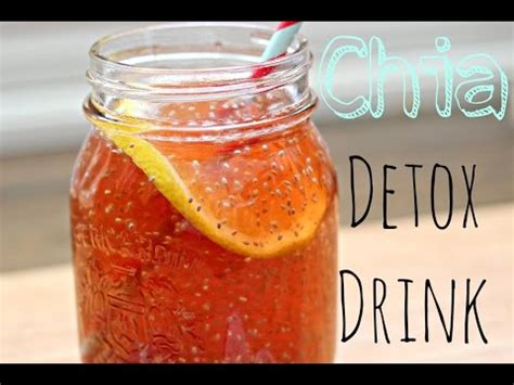 Dr Shalini Detox Drink by Dr Oz On Energy Chia Seeds Doovi