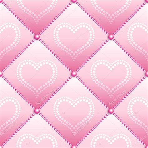 pink quilted wallpaper pink satin quilted seamless texture stock vector