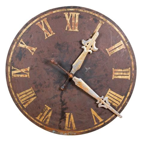 decorative clock large decorative clock face at 1stdibs