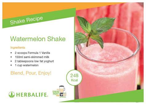 Shake Berry Milk Shake Herballife Asli Herbal Shake watermelon shake herbalife recipe cards watermelon shake herbalife recipes and