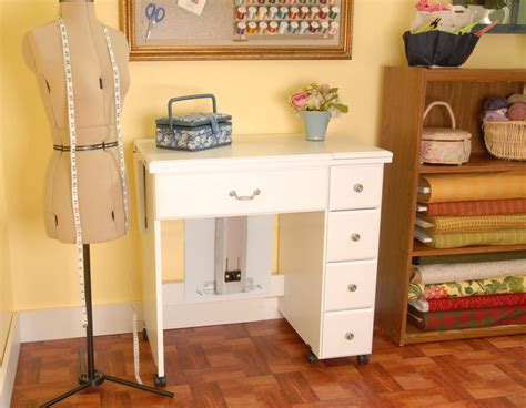 auntie em sewing machine cabinet by arrow