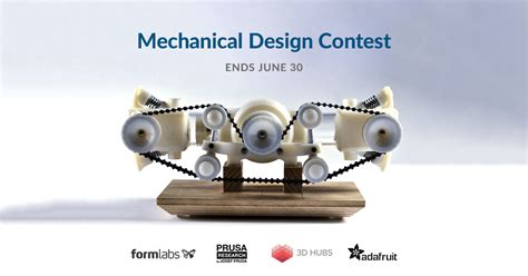 mechanical decor 3d printing contests pinshape