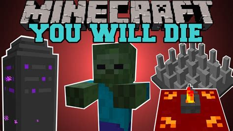 ban mod game dungeon quest minecraft you will die dungeons quests rpg buffs