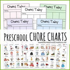 1000 Ideas About Preschool Chore Charts On