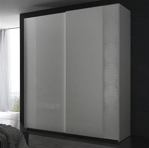 Sliding Door Armoire Wardrobe Nightfly White 2 Door Sliding Wardrobe Armoires
